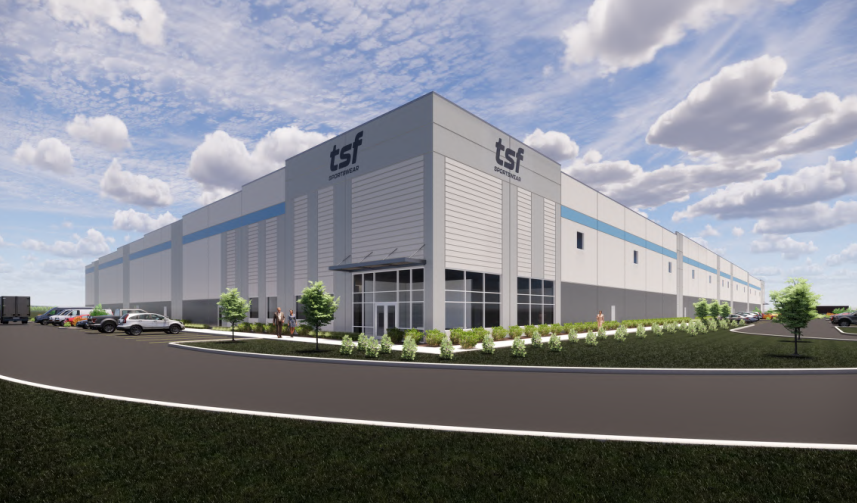 TSF Sportswear to occupy new Lakeshore distribution facility